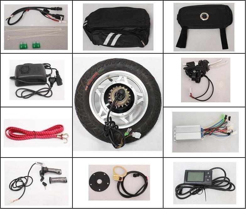 kit ruota elettrica 12''