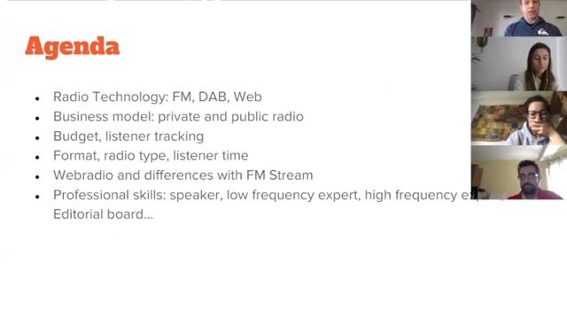 WebRadio, FM Radio, streaming and similiar stuff. A Webinair